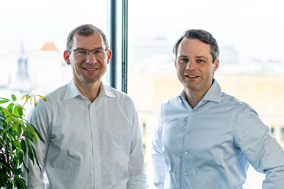 Lutz Rittig und Mathias Hain, Geschäftsführer von RITTERWALD